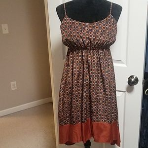 Retro-style Hi-Lo Dress